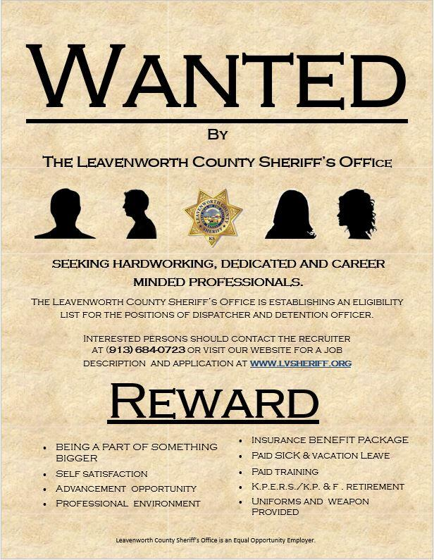 wanted poster for detention and dispatch staff employment opportunities.JPG